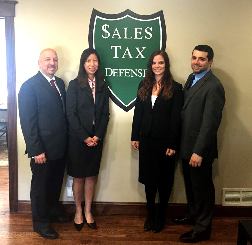 Sales tax defense Professionals