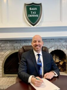 A photograph of Mark L. Stone, CPA, MST Managing Partner